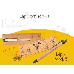 Bolígrafo  Mod 5 con semilla