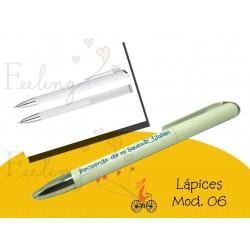 Bolígrafo modelo 6