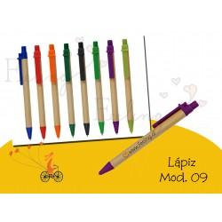 bolígrafo mod. 9 ecológico