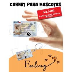 carnet para mascotas